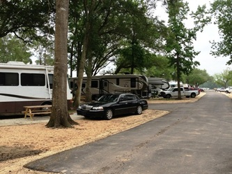 Bayou Oaks Rv Park Spaces Lake Charles Louisiana Lake